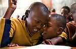Braise and Mutava in class together. <br />