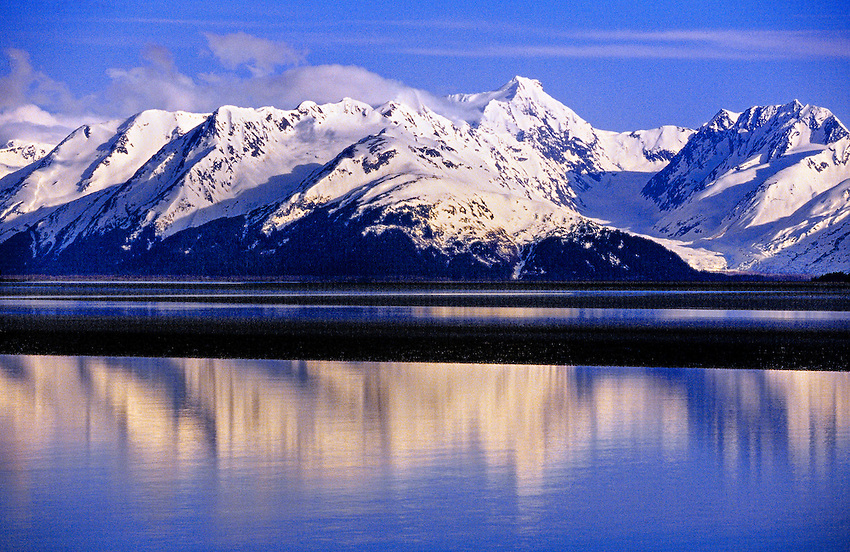Turnagain Arm, near Anchorage, Alaska USA