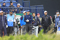 Sergio Garcia (ESP) on the 13th during the preview of the the 148th Open Championship, Portrush golf club, Portrush, Antrim, Northern Ireland. 17/07/2019.<br /> Picture Thos Caffrey / Golffile.ie<br /> <br /> All photo usage must carry mandatory copyright credit (© Golffile | Thos Caffrey)