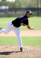 Kurt Yacko / Colorado Rockies 2008 Instructional League..Photo by:  Bill Mitchell/Four Seam Images