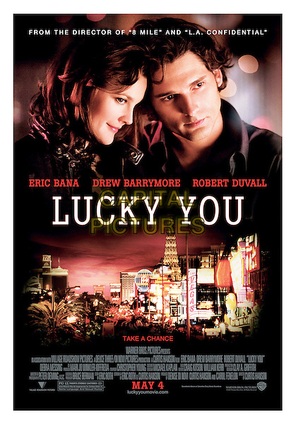 POSTER ART.in Lucky You .**Editorial Use Only**.CAP/FB.Supplied by Capital Pictures