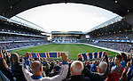A full house at Ibrox on a friday night