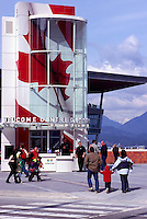 "The New Tourist Welcome Centre and Information Booth at ""Canada Place"" Trade and Convention Centre, Vancouver, British Columbia, Canada"