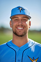 Tampa Bay Rays Josh Lowe during a Baseball America Photo Shoot on March 9, 2019 at Charlotte Sports Park in Port Charlotte, Florida.  (Mike Janes/Four Seam Images)
