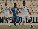 Nejmah vs Riffa during the 2015 AFC Cup 2015 Group D match on April 15, 2015 at the Saida Municipal Stadium in Saida, Lebanon. Photo by Adnan Hajj / World Sport Group