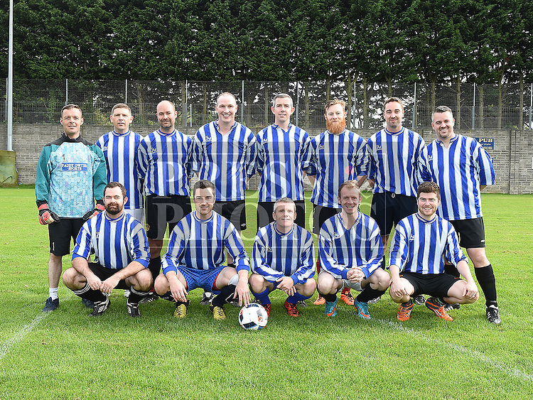 The Laurence Centre team team who played against the Peaches team in the Alzheimers Cup at Marion Park. Photo:Colin Bell/pressphotos.ie