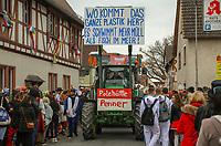Büttelborn 03.03.2019: Rosensonntagsumzug<br /> Wagen der Polehütte Penner<br /> Foto: Vollformat/Marc Schüler, Schäfergasse 5, 65428 R'eim, Fon 0151/11654988, Bankverbindung KSKGG BLZ. 50852553 , KTO. 16003352. Alle Honorare zzgl. 7% MwSt.