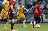 Nashville, TENN. - Saturday February 10, 2018: RYAN JAMES during a preseason exhibition match between Nashville SC vs Atlanta United FC at First Tennessee Park.