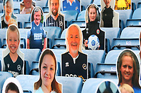 Cardboard cut outs of Millwall fans in the stand during Millwall vs Swansea City, Sky Bet EFL Championship Football at The Den on 30th June 2020