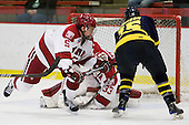 Dan Ford (Harvard - 5), John Jamieson (Merrimack - 15) -  - The visiting Merrimack College Warriors defeated the Harvard University Crimson 3-1 (EN) at Bright Hockey Center on Tuesday, November 30, 2010.