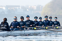 Putney, London,  Tideway Week, Championship Course. River Thames, <br /> <br /> Tuesday  28/03/2017<br /> [Mandatory Credit; Credit: Peter Spurrier/Intersport Images.com ]<br />  <br /> <br /> Bow: Flo Pickles, 2: Alice Roberts, 3: Rebecca Esselstein &ndash; USA. 4: Rebecca Te Water Naude, 5: Harriet Austin, 6: Chloe Laverack &ndash; USA, 7: Emily Cameron &ndash; CAN, Stroke: Jenna Hebert and Cox: Eleanor Shearer &ndash;