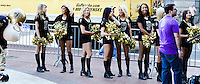 New Orleans Saints Cheerleaders at the YLC's Lafayette Square concert series in New Orleans, LA.