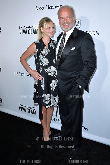 LOS ANGELES, CA. October 27, 2016: Kelsey Grammer &amp; Kayte Walsh at the 2016 amfAR Inspiration Gala at Milk Studios, Los Angeles.<br /> Picture: Paul Smith/Featureflash/SilverHub 0208 004 5359/ 07711 972644 Editors@silverhubmedia.com