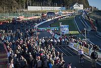 Call-up for the Elite Men's start line<br /> <br /> 2016 CX Superprestige Spa-Francorchamps (BEL)
