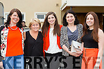 Emma O'Shea, Teresa, Eileen and Elaine Healy-Rae at the Castleisland Strictly Come Dancing on Friday night