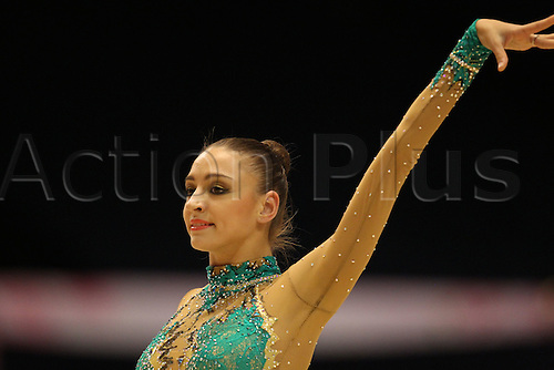 Evgeniya Kanaeva (RUS), .OCTOBER 9, 2010 - Rhythmic Gymnastics : .AEON CUP 2010 .Worldwide R.G. Club Championships .at Tokyo Metropolitan Gymnasium, Tokyo, Japan. .
