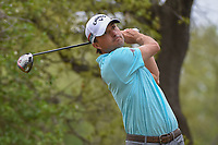 Kevin Kisner (USA) watches his tee shot on 12 during a playoff with Alex Noren (SWE) during day 5 of the World Golf Championships, Dell Match Play, Austin Country Club, Austin, Texas. 3/25/2018.<br /> Picture: Golffile | Ken Murray<br /> <br /> <br /> All photo usage must carry mandatory copyright credit (&copy; Golffile | Ken Murray)