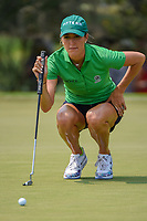 Jaye Marie Green (USA) lines up her putt on 4 during round 4 of the 2019 US Women's Open, Charleston Country Club, Charleston, South Carolina,  USA. 6/2/2019.<br /> Picture: Golffile | Ken Murray<br /> <br /> All photo usage must carry mandatory copyright credit (© Golffile | Ken Murray)