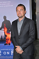 "LOS ANGELES, USA. June 06, 2019: Leonardo DiCaprio at the premiere for ""Ice on Fire"" at the LA County Museum of Art.<br /> Picture: Paul Smith/Featureflash"