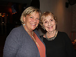 Guiding Light and OLTL's Kim Zimmer stars in The Shuck and poses with actress Jennifer Harmon (OLTL, GL and Loving) at the after party on opening nght at the Cape May Stage in Cape May, New Jersey. (Photo by Sue Coflin/Max Photo)