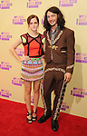 LOS ANGELES, CA - SEPTEMBER 06: Emma Watson and Ezra Miller arrive at the 2012 MTV Video Music Awards at Staples Center on September 6, 2012 in Los Angeles, California.