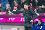 10.02.2018, Allianz Arena, Muenchen, GER, 1.FBL,  FC Bayern Muenchen vs. FC Schalke 04, im Bild Domenico Tedesco (Trainer Schalke) <br /> <br />  Foto &copy; nordphoto / Straubmeier