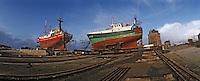 Europe/France/Bretagne/29/Finistère/Camaret: Détail bateaux