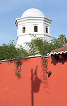 Latin America, Guatemala, Antigua, Shadow on Colonial House