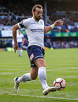 Paul Hayes of Wycombe Wanderers during the FA Cup 1st round match between Portsmouth and Wycombe Wanderers at Fratton Park, Portsmouth, England on the 5th November 2016. Photo by Liam McAvoy.