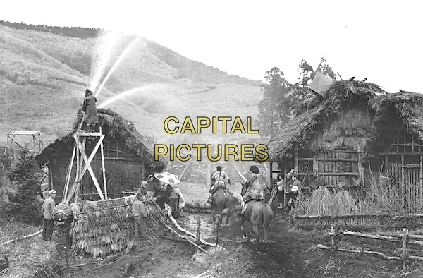 SCENE<br /> in Seven Samurai (1954) <br /> (Shichinin no samurai)<br /> *Filmstill - Editorial Use Only*<br /> CAP/NFS<br /> Image supplied by Capital Pictures