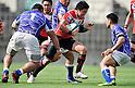 Harumichi Tatekawa (JPN),.JUNE 17, 2012 - Rugby : IRB Pacific Nations Cup 2012 match between Japan 26-27 Samoa at Chichibunomiya Rugby Stadium, Tokyo, Japan. (Photo by Jun Tsukida/AFLO SPORT) [0003]