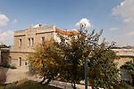 Israel, Jerusalem, A renovated building in Safra Square<br />