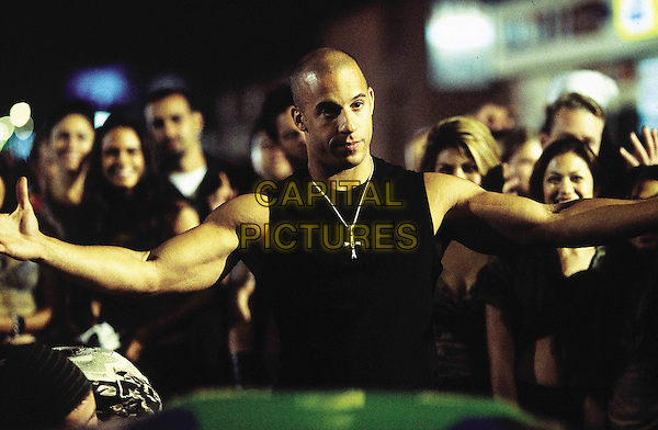 VIN DIESEL.in The Fast and the Furious (2001) .*Filmstill - Editorial Use Only*.CAP/FB.Supplied by Capital Pictures.