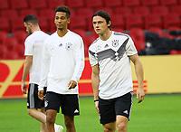 Thilo Kehrer (Deutschland Germany), Nico Schulz (Deutschland Germany) - 12.10.2018: Abschlusstraining der Deutschen Nationalmannschaft vor dem UEFA Nations League Spiel gegen die Niederlande