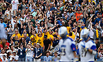 FOXBORO, MA - MAY 28: A general view of fans during the Division II Men's Lacrosse Championship held at Gillette Stadium on May 28, 2017 in Foxboro, Massachusetts. (Photo by Larry French/NCAA Photos via Getty Images)