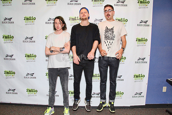 BALA CYNWYD PA - SEPTEMBER 5 : ALT J visit Radio 104.5 performance theater in Bala Cynwyd, Pa on September 5, 2014 photo credit: Star Shooter / MediaPunch