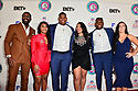 MIAMI, FL - JANUARY 30:  (L-R) Marquay Baul, Maranda Ross, Quinnen Williams, Nicole Lynn, Quincy Williams and Stephaniee Genn attend the 21st Annual Super Bowl Gospel Celebration at James L Knight Center on January 30, 2020 in Miami, Florida. ( Photo by Johnny Louis / jlnphotography.com )