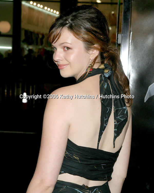 "Amber Tamblyn.""Snakes on a Plane"" Premiere.Grauman's Chinese Theater. Hollywood, CA.August 17, 2006.©2006 Kathy Hutchins / Hutchins Photo.."