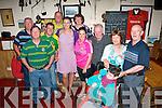 Enjoying the Féile Cheoil Chlochán Bhréanainn music festival last weekend in O'Donnell's bar, Cloghane were l-r: Tom O'Donnell, Mikie Murphy, Michéal O'Murchú, Martin O'Connor, Linda and MaryAnn Murphy, Áine McCarthy, Brendan Corkery with John, Breda and Gary Fitzgerald.