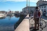 Milano, gennaio2014 Lavori in corso sulla Darsena. <br /> Work in progress
