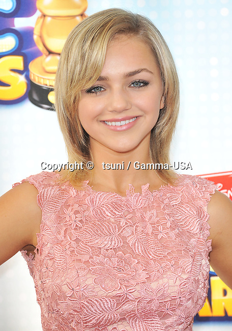Oana Gregory 202 arriving the Radio Disney Music Awards at the Nokia Theatre in Los Angeles.