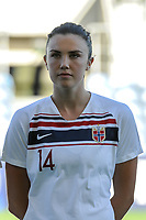 20200310 Faro , Portugal : Norwegian midfielder Ingrid Syrstad Engen (14) pictured during the female football game between the national teams of New Zealand and Norway on the third matchday of the Algarve Cup 2020 , a prestigious friendly womensoccer tournament in Portugal , on Tuesday 10 th March 2020 in Faro , Portugal . PHOTO SPORTPIX.BE | STIJN AUDOOREN