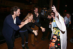 Steven Pasquale, Kelli O'Hara, ,Jennifer Allen and Director Bartlett Sher during the Actor's Equity Opening Night Gypsy Robe Ceremony honoring Jennifer Allen for 'The Bridges of Madison County'  at the Gerald Schoenfeld Theatre on February 20, 2014 in New York City.