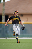 Pittsburgh Pirates Michael Suchy (36) during an instructional league intrasquad black and gold game on September 18, 2015 at Pirate City in Bradenton, Florida.  (Mike Janes/Four Seam Images)