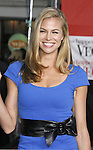 """Actress Brooke Burns arrives at the Premiere Of Fox's """"What Happens In Vegas"""" on May 1, 2008 at the Mann Village Theatre in Los Angeles, California."""