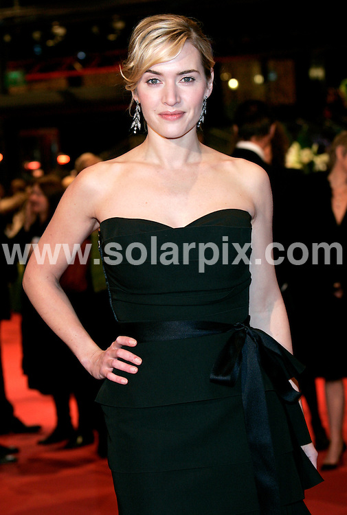 **ALL ROUND PICTURES FROM SOLARPIX.COM**.**SYNDICATION RIGHTS FOR UK AND SPAIN ONLY**.Premiere of the movie 'The Reader' at the 59th International Film Festival in Berlin, Germany..This pic:  Kate Winslet.JOB REF:   8413    CPR        DATE:  06.02.09.**MUST CREDIT SOLARPIX.COM OR DOUBLE FEE WILL BE CHARGED* *ONLINE USAGE FEE £50.00 PER PICTURE - NOTIFICATION OF USAGE TO PHOTO@SOLARPIX.COM*