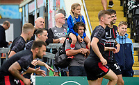Lincoln City fans enjoy the pre-match atmosphere<br /> <br /> Photographer Chris Vaughan/CameraSport<br /> <br /> The EFL Sky Bet League One - Lincoln City v Fleetwood Town - Saturday 31st August 2019 - Sincil Bank - Lincoln<br /> <br /> World Copyright © 2019 CameraSport. All rights reserved. 43 Linden Ave. Countesthorpe. Leicester. England. LE8 5PG - Tel: +44 (0) 116 277 4147 - admin@camerasport.com - www.camerasport.com