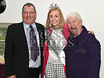 Rose of Tralee for 2015 Elysha Brennan with Michael and Sheila Kinahan at the official opening of Slane Foróige Youth Café. Photo:Colin Bell/pressphotos.ie