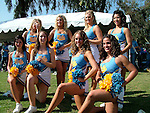 UCLA cheerleaders at Rose Bowl