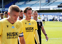 18th July 2020; The Kiyan Prince Foundation Stadium, London, England; English Championship Football, Queen Park Rangers versus Millwall; A disappointed Millwall Manager Gary Rowett looking at this players while walking towards the away tunnel after full time